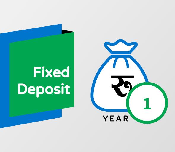 1 Year Fixed Deposit